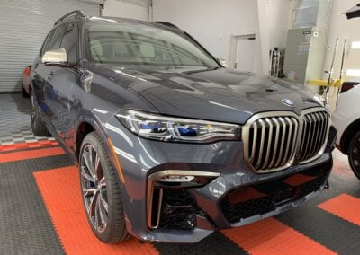 Photo of a New Car Preparation of a 2021 BMW 7-Series