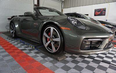 New Car Preparation of a 2021 Porsche 911