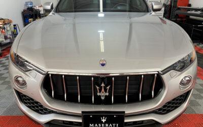 Ceramic Coating of a 2019 Maserati Levante