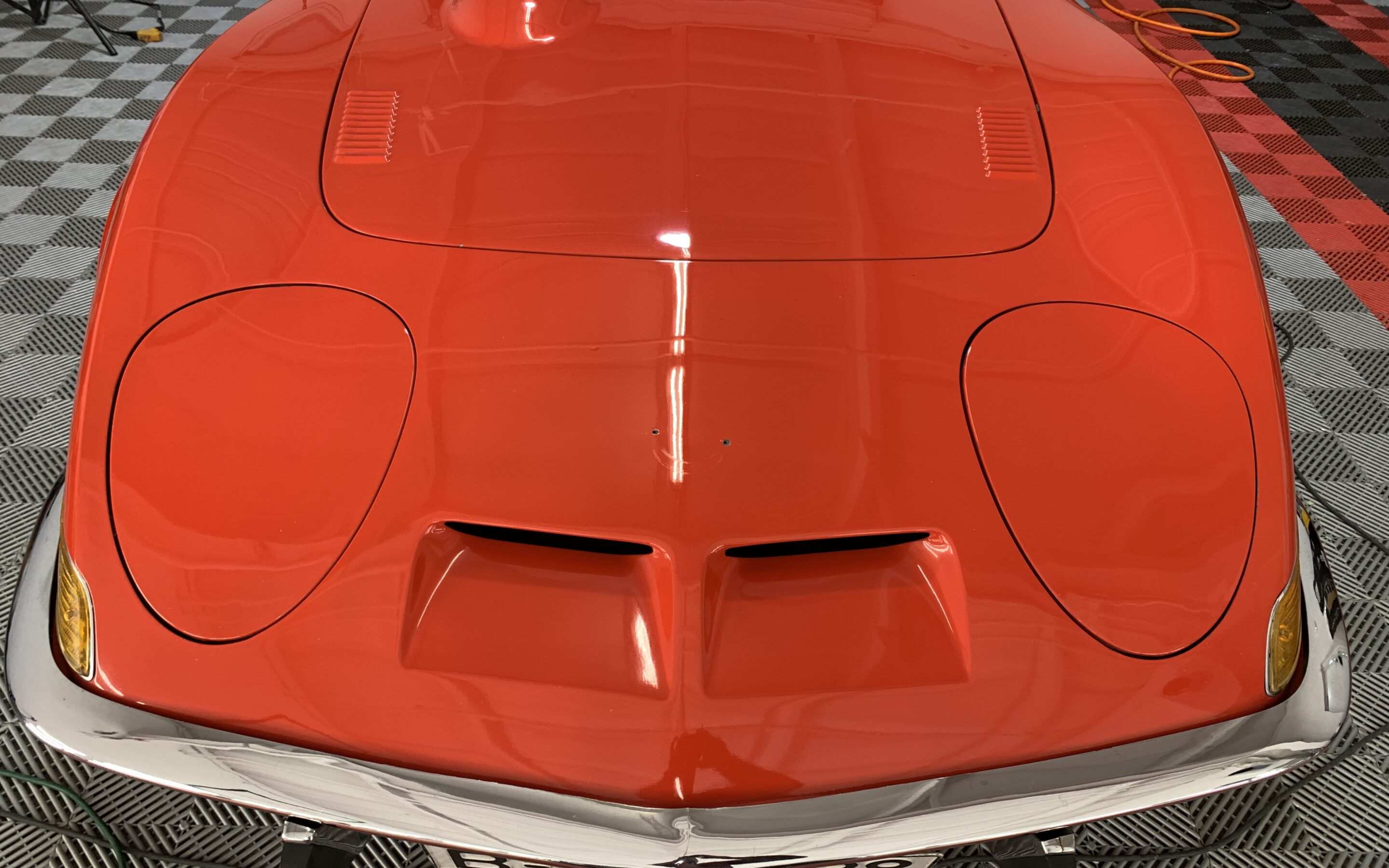 Paint Correction of a 1971 Opel GT