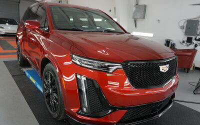 New Car Preparation of a 2021 Cadillac CT6 CT6-V