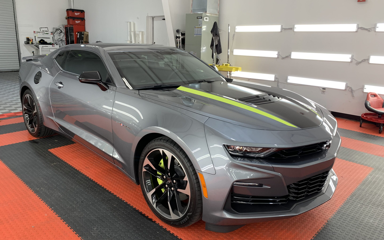 New Car Preparation of a 2021 Chevrolet Camaro
